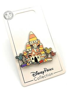 Disney-Parks-2020-Candy-Corn-Cinderella-Castle-House-Halloween-Trading-Pin-NEW