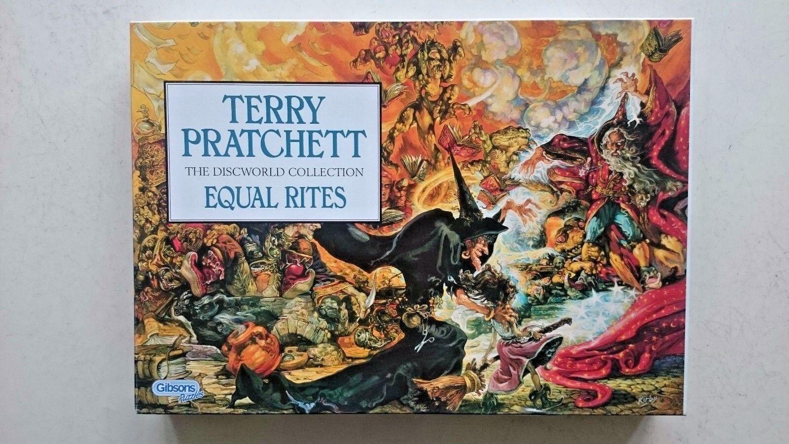 Terry Pratchett Equal Rites 1000 Piece Jigsaw Puzzle