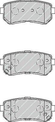 FDB4235-12 Month Warranty! Brand New Ferodo Rear Brake Pad