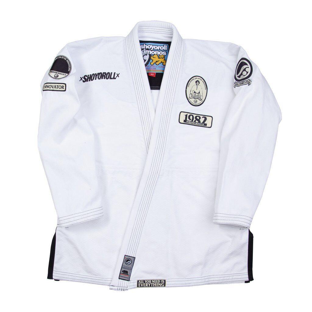 Shoyoroll Forever Rollos V2 blancoo Lote 53 Nuevo Bjj Kimono Gi Jiujitsu