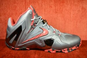 meet 84a86 57eb7 Image is loading WORN-TWICE-Nike-Lebron-XI-11-Elite-Team-