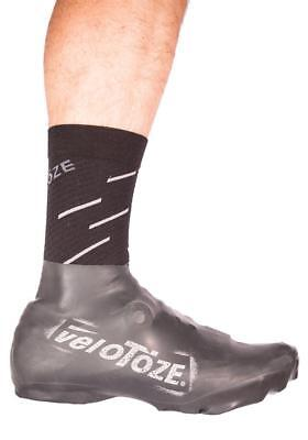 WHITE T-WHT-003-P veloToze TALL ROAD SHOE COVERS Waterproof Cycling Booties