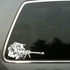 Sniper ghillie suit barrett 50 cal vinyl decal sm