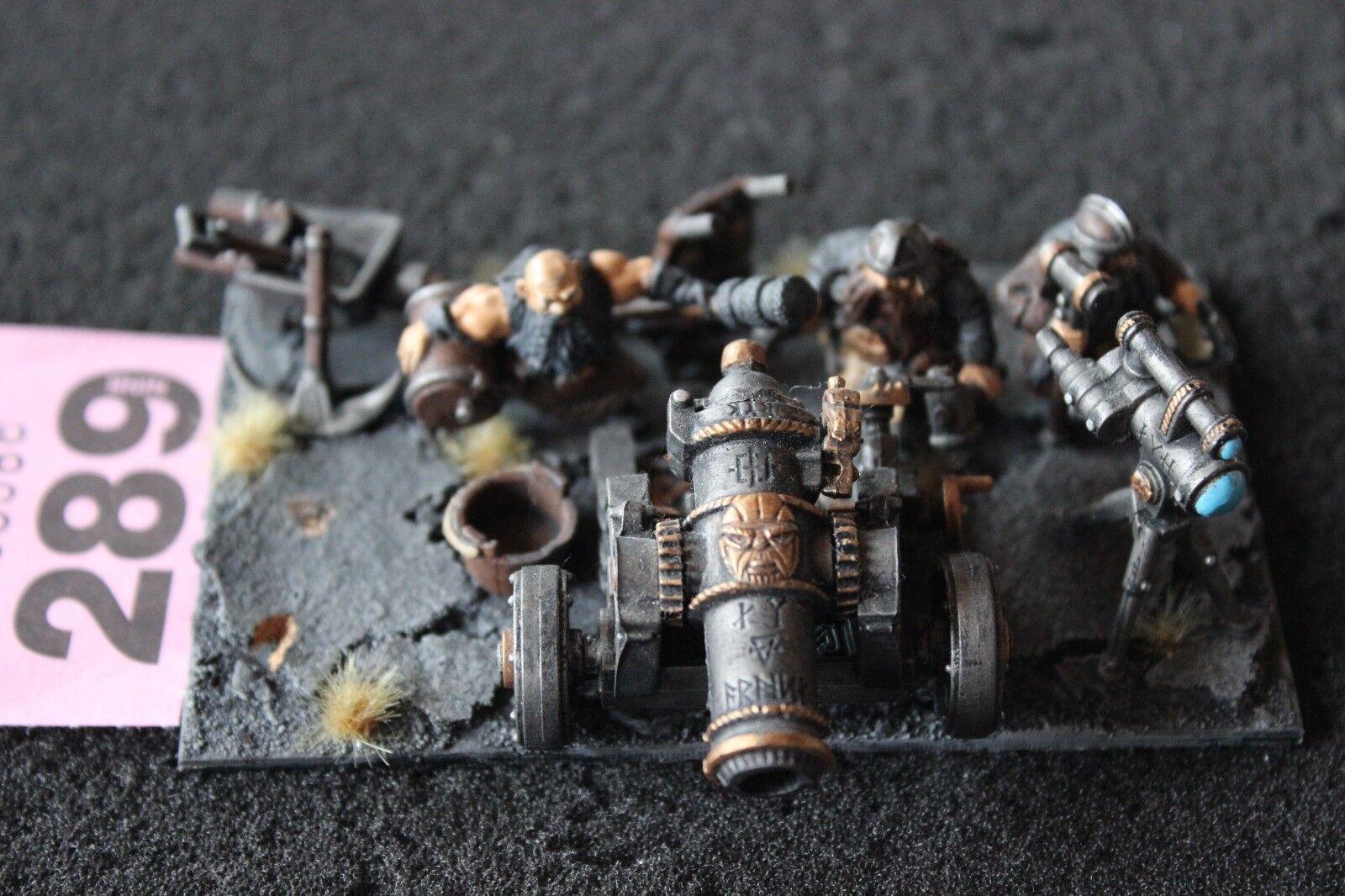 Games Workshop Warhammer Dwarves Dwarf Great Cannon Pro Painted Based Fantasy