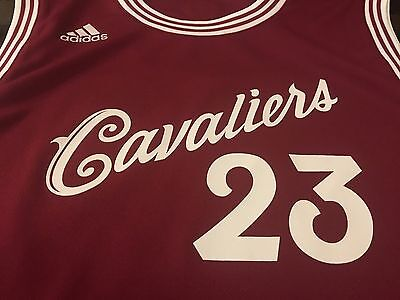 Limited Edition LeBron James Cleveland Cavaliers Burgundy Replica Women's Jersey   eBay