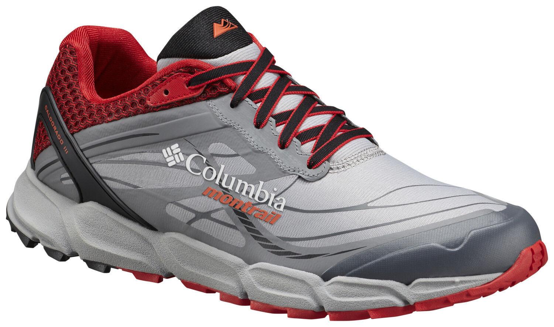 Para hombres Columbia caldorado III Running zapatos Vapor Naranja agria