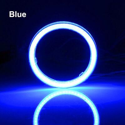 1Pair Green 120MM COB LED Angel Eye Halo Rings For Fog Lights Led Headlights 12V