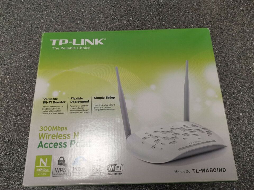 Access point, wireless, TP-Link