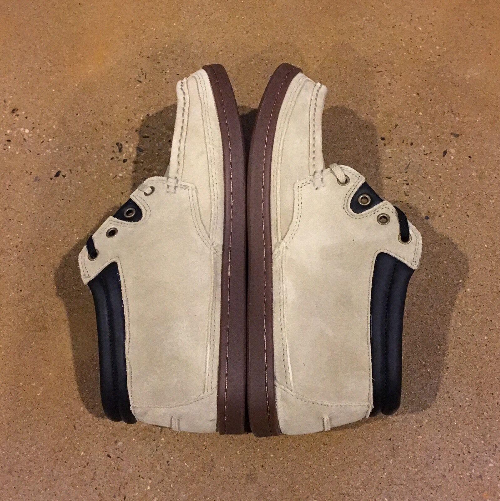 DVS Hunt Tan Suede Size 9.5 US Chukka Boat Deck BMX Skate Shoes Scarpe da Ginnastica