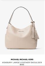 item 1 New Authentic MICHAEL Michael Kors Ashbury Large Leather Shoulder Bag  Cement -New Authentic MICHAEL Michael Kors Ashbury Large Leather Shoulder  Bag ... 023d396e4ba62