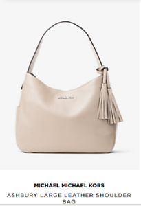 fb9915dcaf13 Image is loading New-Authentic-MICHAEL-Michael-Kors-Ashbury-Large-Leather-
