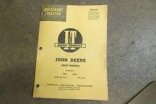 John Deere 435 D 440 ID tractor I & T service & repair manual