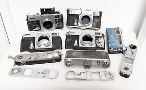 Details about Vintage JOB LOT of ZEISS IKON CONTAX ii 35mm film camera body  PARTS REPAIR
