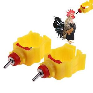 10pcs-Chicken-Duck-Hen-Automatic-In-Poultry-Nipple-Water-Feeder-Drinker-Waterer