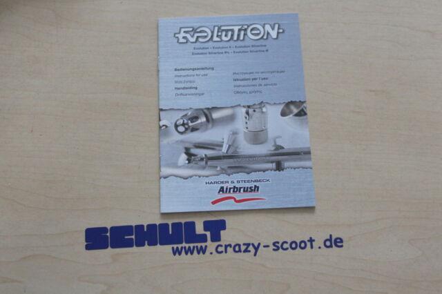 Evolution Airbrushpistole silverline solo inkl Reinigungsset