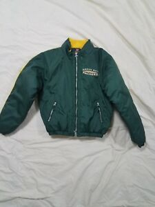 db804713 Details about NFL Green Bay Packers Green Coat Mirage Kids Youth Boys X-  large