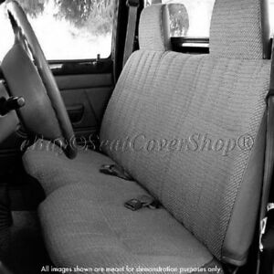 Magnificent Details About Triple Stitched Thick Small Pickup Truck Bench Charcoal Gray Seat Cover Squirreltailoven Fun Painted Chair Ideas Images Squirreltailovenorg