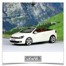 Schuco 1/43 - Volkswagen Golf VI cabriolet 2010 blanc