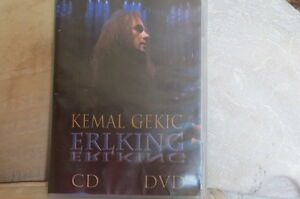 Kemal-Gekic-Erlking-DVD-amp-CD-Doble-Paquete-Muy-Raro-Envio-en-24hrs