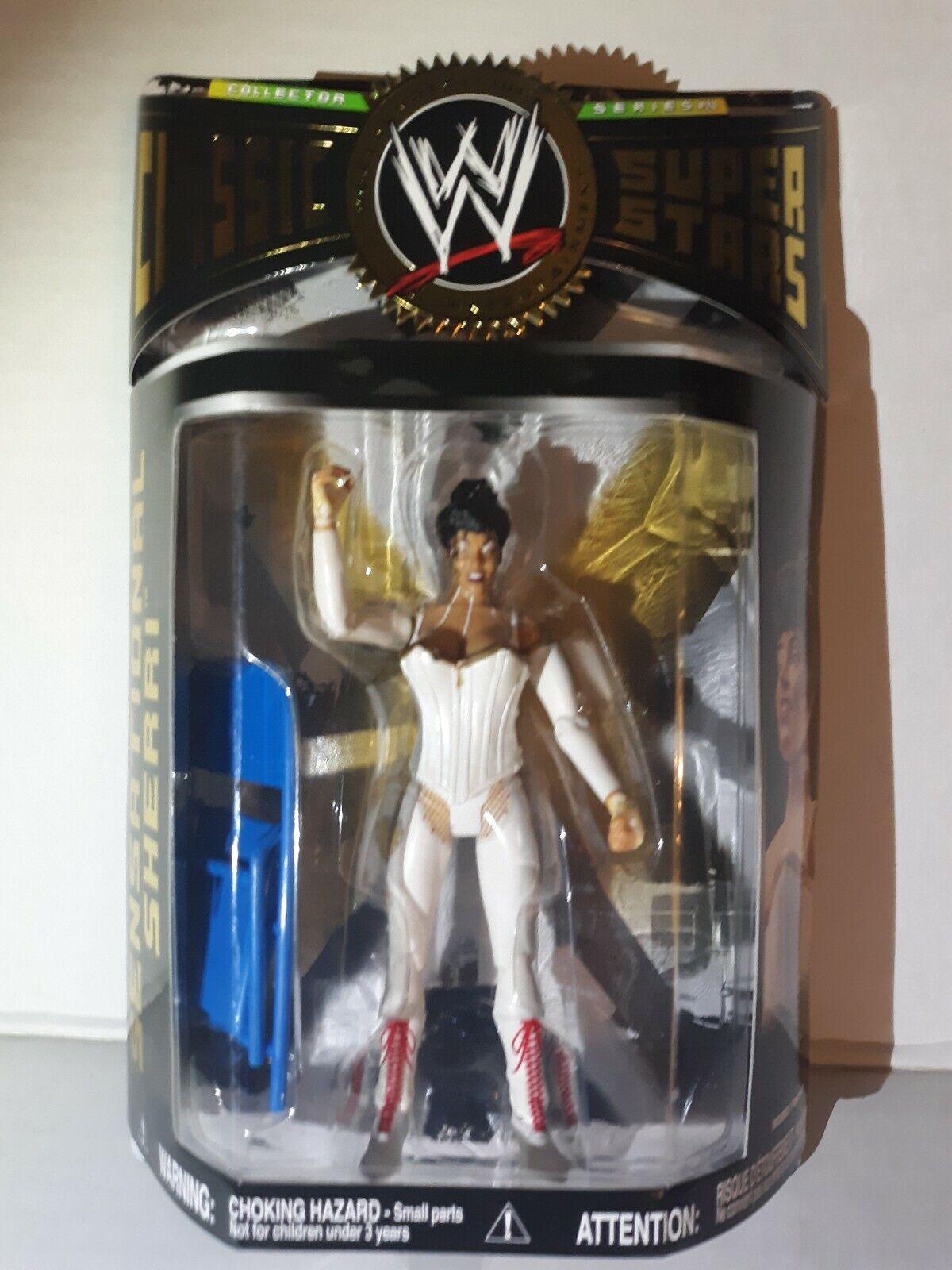 WWE Classic Superstars SENSATIONAL SHERRI  Collectors Series  14 2007  marques en ligne pas cher vente