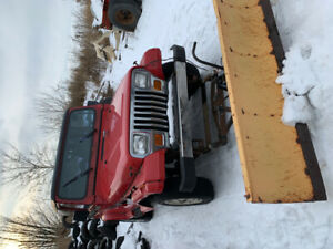 Snow plow and Jeep YJ Combo