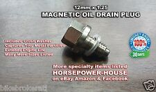 12mm MAGNETIC OIL DRAIN PLUG BOLT for SUZUKI RMZ250 07+ and DRZ400 DR-Z400S SM +