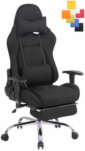 Bürostuhl Limit XFM Stoff mit Massagefunktion und Fußablage Stuhl Computerstuhl