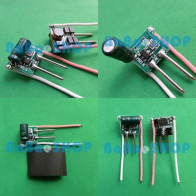 4pcs AC/DC Driver 12V High Power Supply 1x3W 3x3W for LED Light Lamp MR16 3W 9W