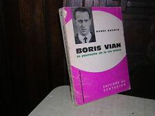 1966.Boris Vian / Baudin avec envoi autographe