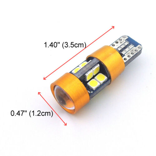 2 Xenon White 19-SMD LED Bulbs Fit for Scion xB 2011-2015 Backup Reverse Lights