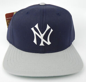 088b8990288 NEW YORK YANKEES MLB VINTAGE SNAPBACK RETRO 2-TONE CAP HAT NWT ...