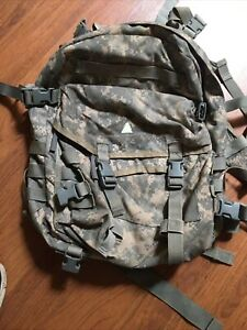 US ARMY USGI ACU Molle II 3 Day Assault Pack Backpack Free Shipping