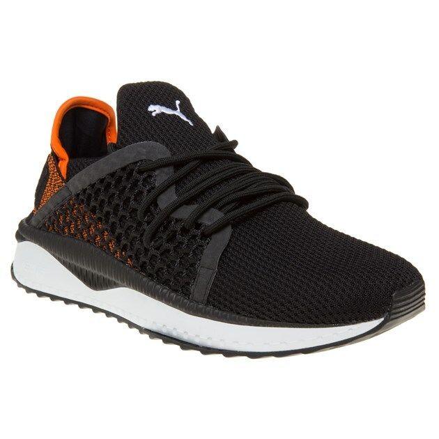 New Mens Running Puma Black TSUGI Netfit Nylon Trainers Running Mens Style Lace Up 82298c