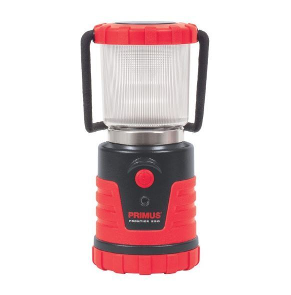 NEW PRIMUS FRONTIER CAMPING  LANTERN 250 WATER RESISTANT CASE DIMMABLE CAMPING  save 60% discount and fast shipping worldwide