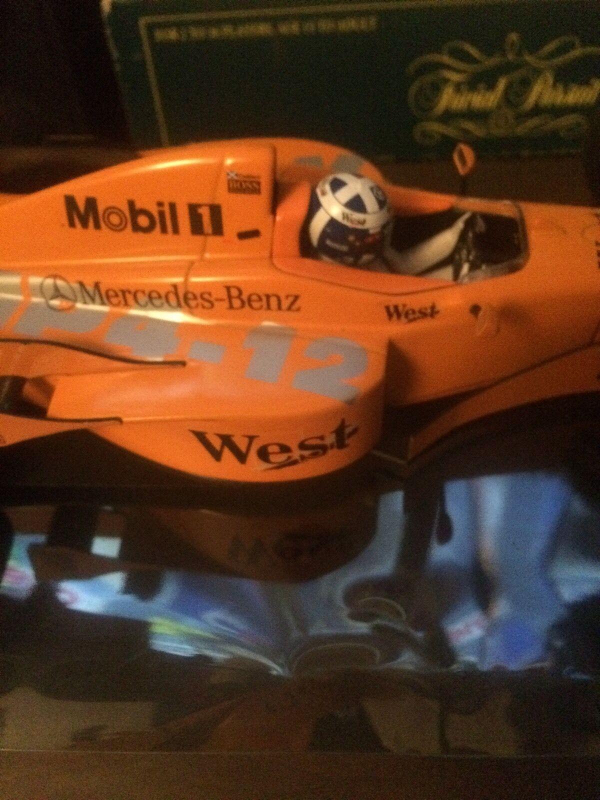 David Coulthard Minichamps Mp4 12 Mclaren Jerez  West Testcar