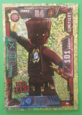 LE 18 Echo Zane Goldkarte Lego Ninjago Trading Card Game Serie 2 limitiert
