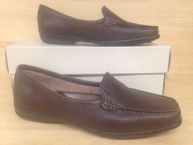 Hush Puppies Giza marrón marrón marrón zapatos nosotros tamaño 6.5 m (UE 4.5, Reino Unido 37.5)  muy popular