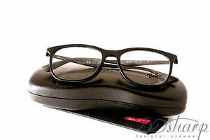 3cedc7ffd8 Image is loading Ray-Ban-Eyeglasses-RB-7078-2000-SHINY-BLACK