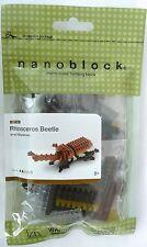 Rhinoceros Beetle Nanoblock IST_003 Micro-Sized Building Blocks Level 2 Ages 8+