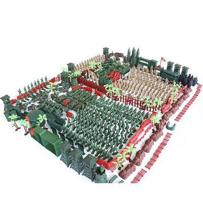 520pcs Plastic Military Playset 5cm Army Figures Model Toys For Kids Adult