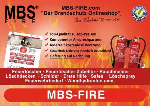 Estintore Simbolo scudo di protezione antincendio caratteri 10 x 10 cm Pellicola secondo DIN