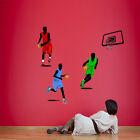 Basketball Fans Wall Decor Vinyl Decal Sticker Removable Kids Art Mural window