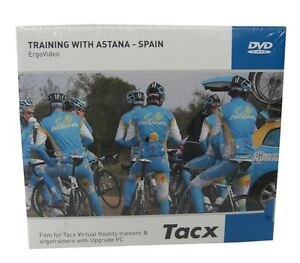 Tacx Real Life Video Dvd Training With Astana Spain For