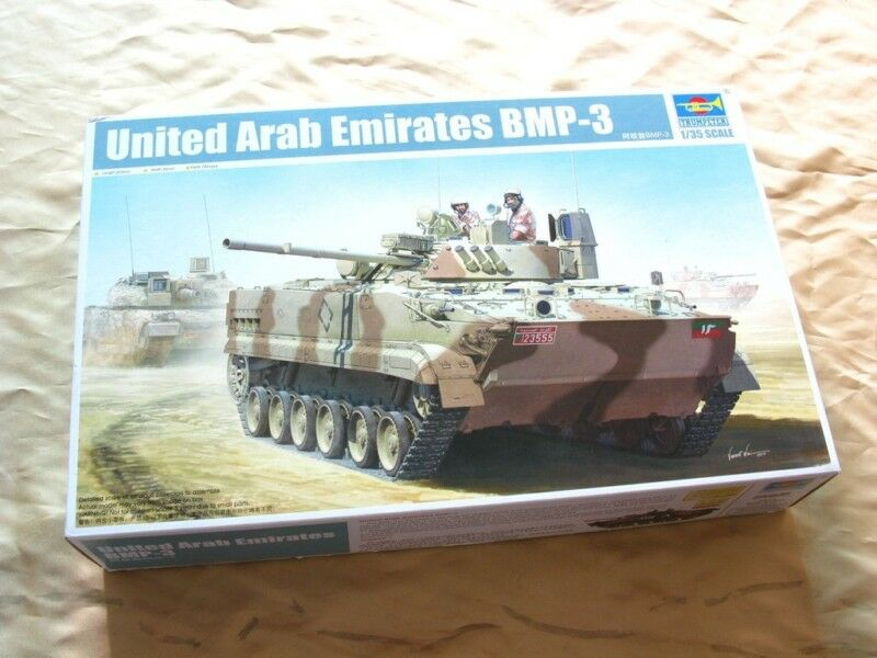 01531 Trumpeter 1 35 Model United Areb Emirates BMP-3 IFV Vehicle Chariot Tank
