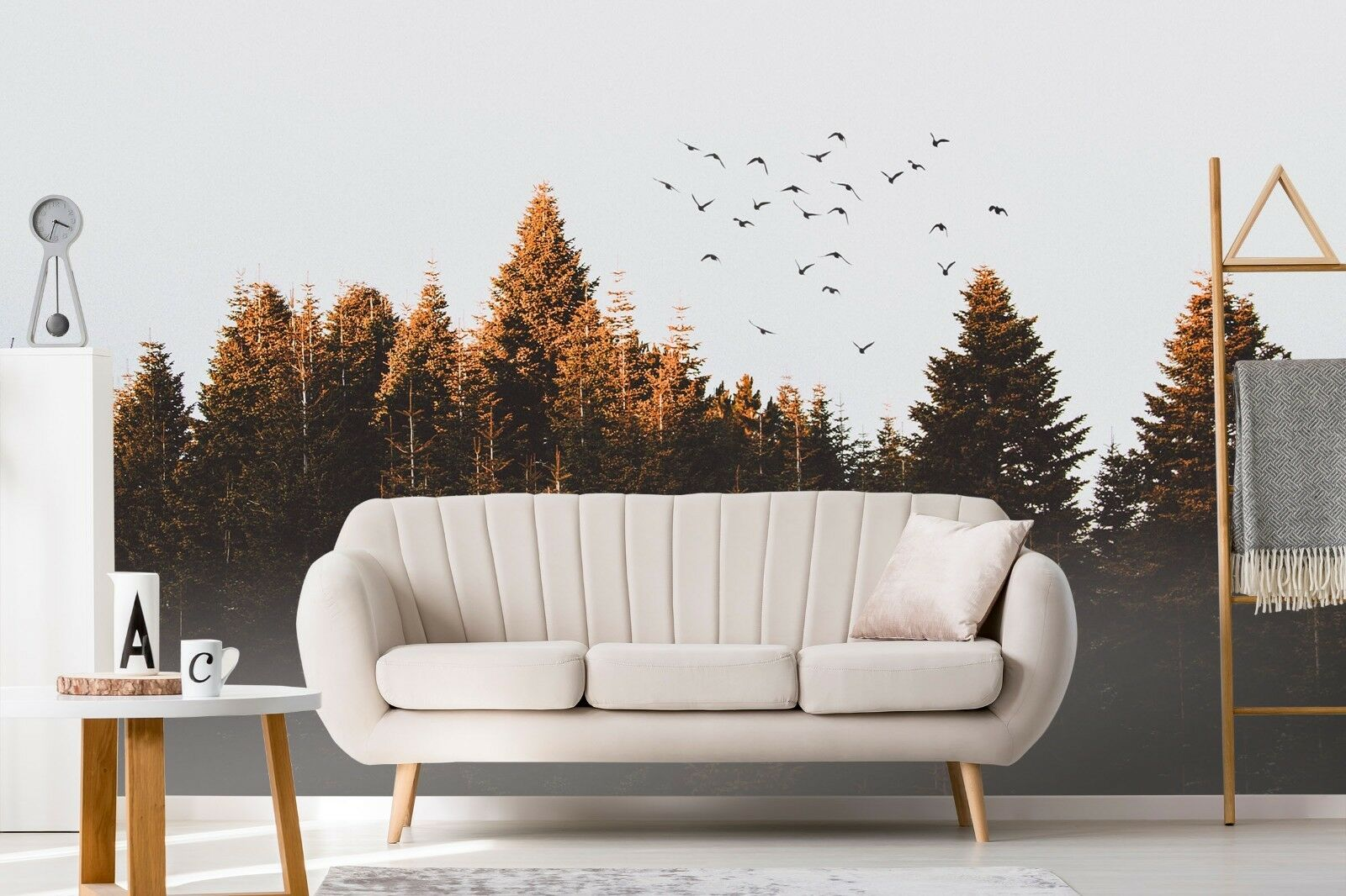 3D Weiß Clouds Forest 81 Wall Paper Exclusive MXY Wallpaper Mural Decal Indoor