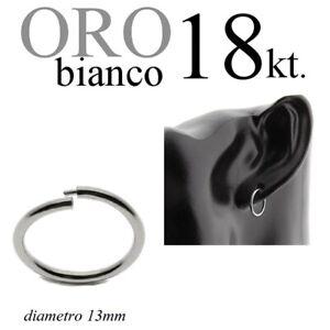 mono-orecchino-uomo-ORO-BIANCO-18kt-cerchio-invisibile-anello-lobo-mm-13