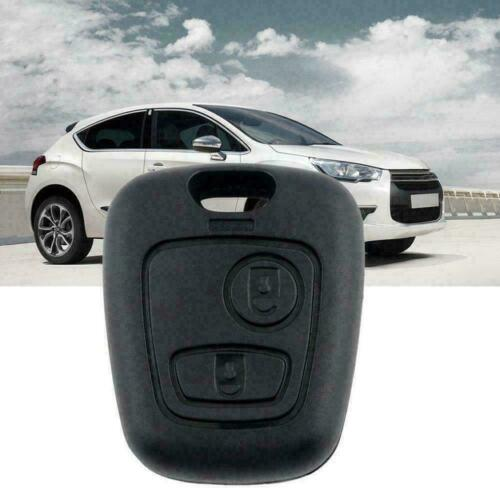 2Button Bemote Key Fob Shell Cover Case For Peugeot 307 B2W1 10 Fast 406 20 A7Z3
