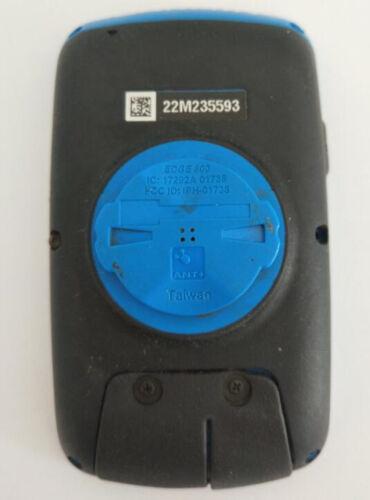 Garmin Edge 800 Back Cover Edge 800 Back Case Replacement Part Black /& Blue