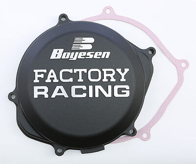 Motorcycle Parts Black For 2010 Honda CRF450R~Boyesen CC-06AB Factory Clutch Cover Complete Motorcycle Clutches & Kits