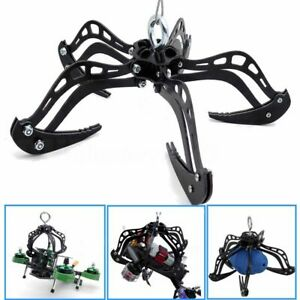Black-8-034-Extra-Large-Mantis-Claw-Drone-Recovery-Claw-Hook-Grabber-Kit-DIY-System